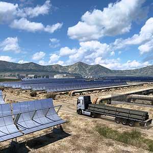 Euro Truck Simulator 2 Iberia Sonnenkollektoren