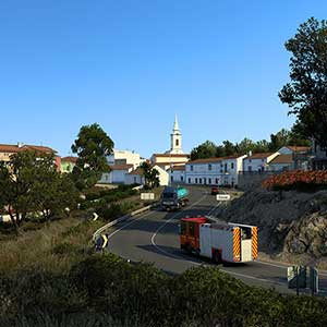 Euro Truck Simulator 2 Iberia Stadt
