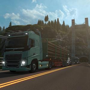 Euro Truck Simulator 2 Scandinavia DLC Truck Model