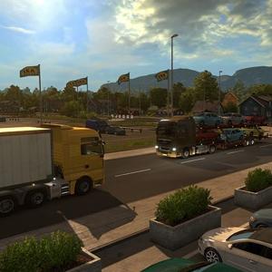 Euro Truck Simulator 2 Scandinavia DLC Truck Stop