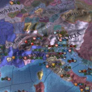 Europa Universalis IV - Map