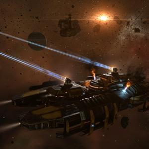 Eve Online Raumschiff