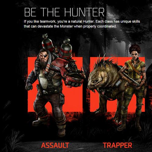 Evolve Hunter Team