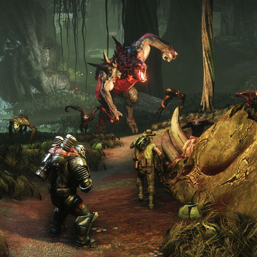 Evolve Xbox one Gameplay Screenshot