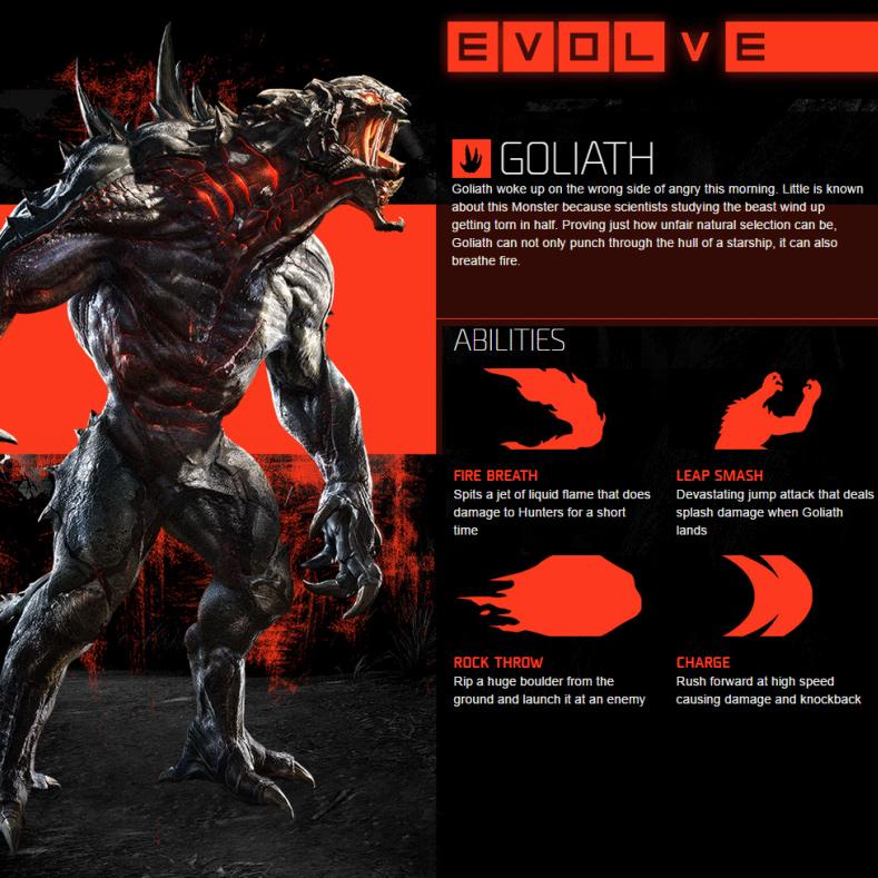Goliath Fähigkeiten