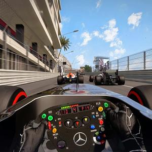 F1 2015 PS4 Rennen -Schnittstelle