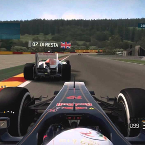 F1 2015 First person view