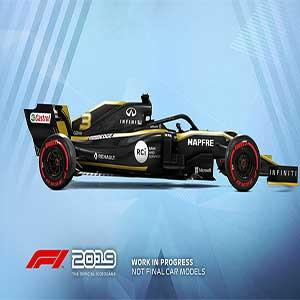 F1 2019 Renault Mannschaft