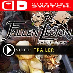 Fallen Legion Rise To Glory Nintendo Switch Digital Download und Box Edition