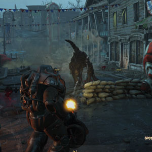 Fallout 4 PS4 - Character