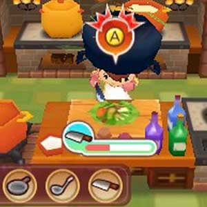 Fantasy Life Nintendo 3DS Küche