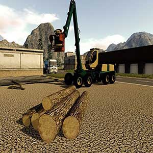 Farming 2017 The Simulation Xbox One Holzschneidefahrzeug