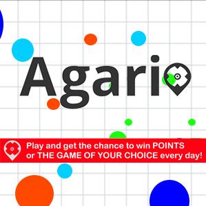 Agario: Gewinne täglich Punkte und das Spiel Deiner Wahl!