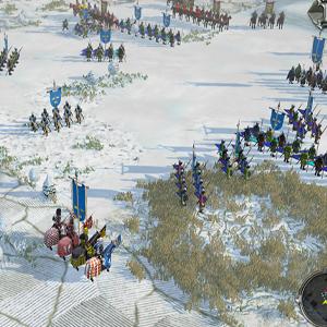 Field of Glory 2 Medieval Verschneite Felder