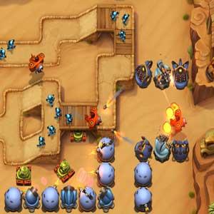 Fieldrunners 2 Trockensten Wüsten