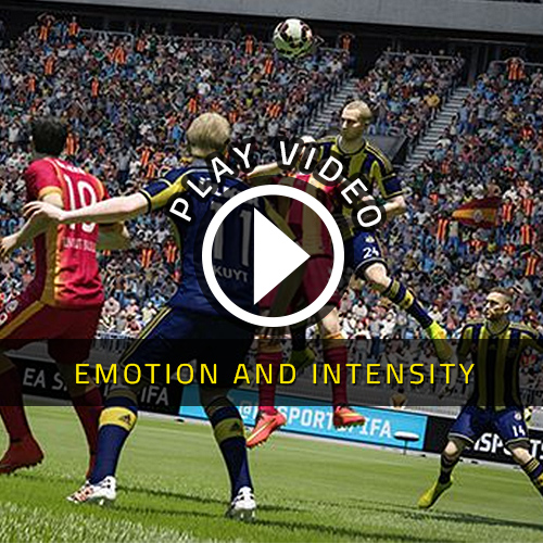 FIFA 15 Xbox One Emotion und Intensität