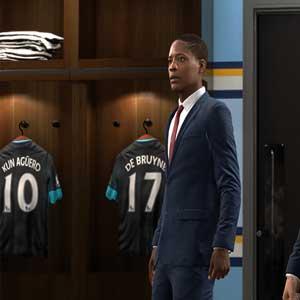 FIFA Spielerumkleideraum