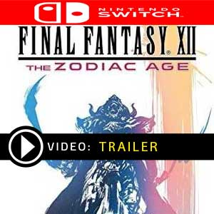 FINAL FANTASY 12 THE ZODIAC AGE Nintendo Switch Digital Download und Box Edition