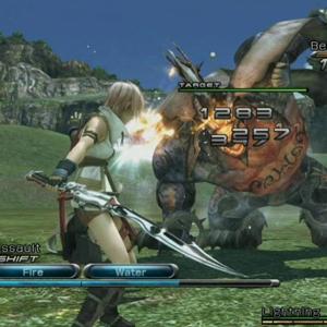 Final Fantasy 13 Schlacht