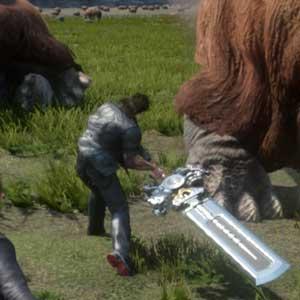 Fantasy 15 PS4 Hostile Tierwelt