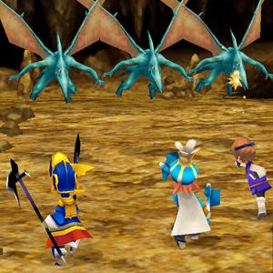 Final Fantasy 3 Schlacht