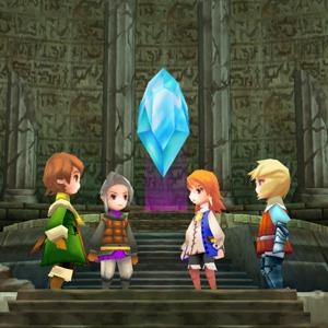 Final Fantasy 3 Zeichen