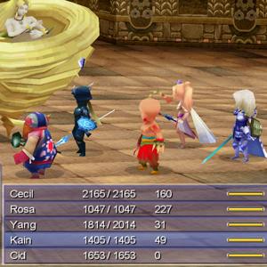 Final Fantasy 4 Schlacht