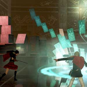 Final Fantasy Type 0 HD Schnittstelle