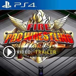 Fire Pro Wrestling World PS4 Digital Download und Box Edition