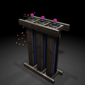 Fireworks Simulator Abschussvorrichtung