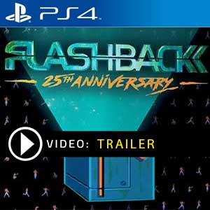 Flashback 25th Anniversary PS4 Prices Digital or Box Edition