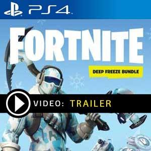 Fortnite Deep Freeze Bundle PS4 Digital Download und Box Edition