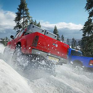 Forza Horizon 4 Schnee