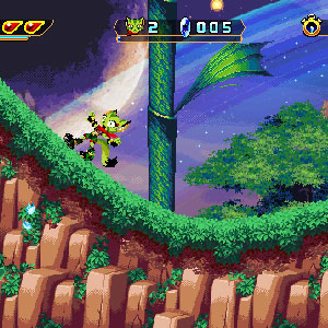 Freedom Planet Charakterauswahl