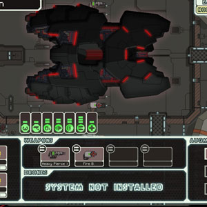 FTL Faster Than Light Raumschiff -System
