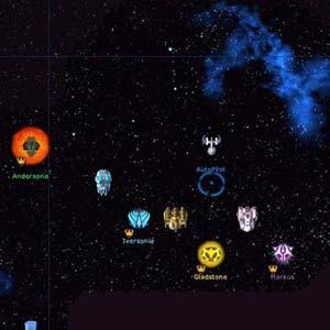 Galactic Civilizations 1 - Spieler HUD