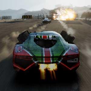 Gas Guzzlers Extreme Rennen-Zeit