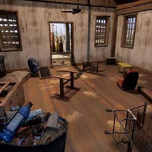 Gas Station Simulator Schmutziges Zimmer