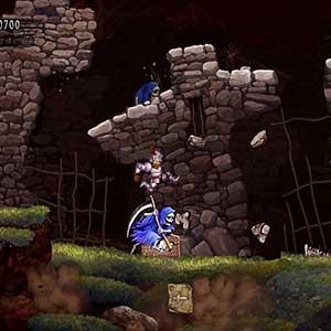 Ghosts n Goblins Resurrection Skelett-Mörder