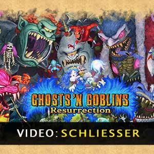 Ghosts n Goblins Resurrection Video Trailer