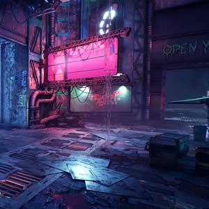 Ghostrunner Cyberpunk-Welt