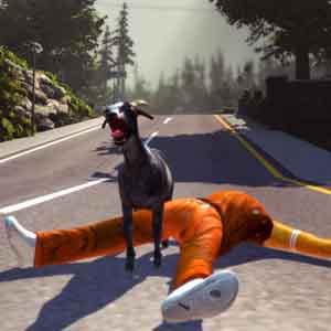Goat Simulator - Nach dem Durchführen einer Flip