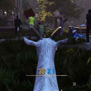 Goat Simulator - jagen Menschen