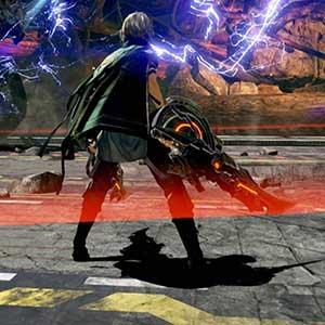 Zerstörung der monströsen Aragami