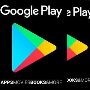 Google Play Gift Card-Stückelungen