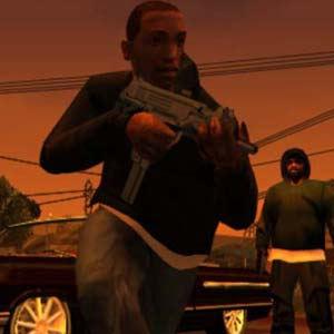 Grand Theft Auto San Andreas - Pistole