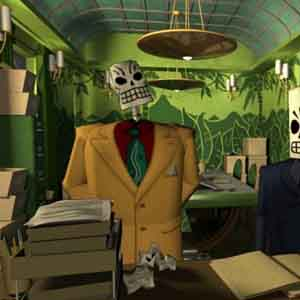 Grim Fandango Remastered: Department of Death Office