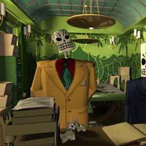Grim Fandango Remastered: Department of Death Office