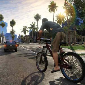 GTA 5 Bike ride