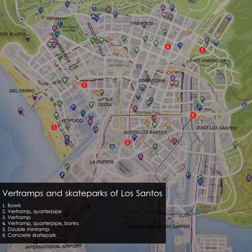 GTA 5 BMX Plan Los Santos